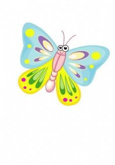 卡通蝴蝶图片