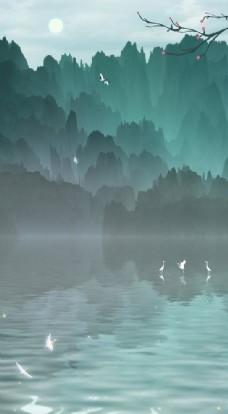 中国风古风背景图图片