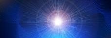 星空光线科技背景海报素材图片