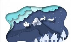 圣诞雪橇剪贴画图片