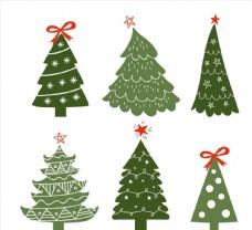 圣诞节装饰松树图片