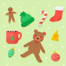 可爱圣诞节物品图片