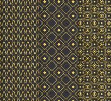 抽象金色花纹背景图片
