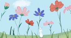 创意风景卡通插画图片