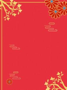 新年紅色背景圖片