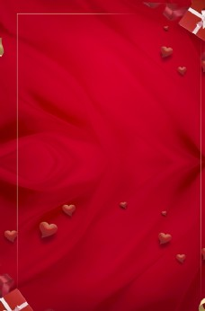 紅色喜慶新年展板背景素材圖片