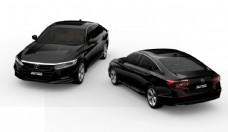 本田雅阁混动版黑色汽车免扣素材图片