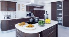 c4d室内高端厨房场景图片
