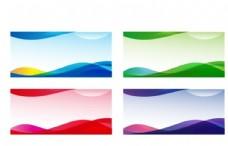 展板展板背景蓝色展板企业图片