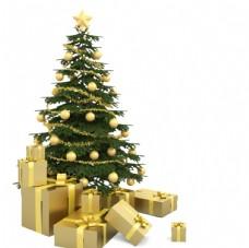 圣诞节圣诞树png素材图片