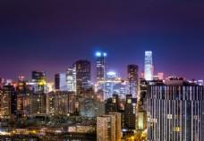 大城市地标建筑摄影图片