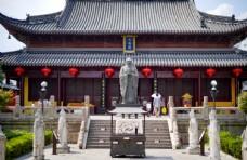 大中式传统建筑物摄影图片