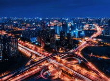 城市风景摄影图片
