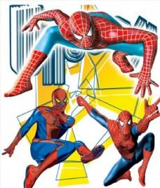 蜘蛛俠復仇者聯盟卡通圖片