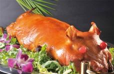 鴻運全體乳豬圖片