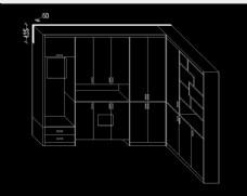 鞋柜加隔断设计方案图片
