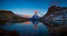 瑞士美丽的自然景观图片