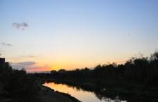 黃昏天空圖片