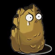 被咬的土豆圖片