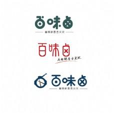 百味卤logo设计图片
