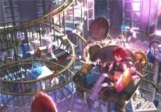 日系动漫背景图片