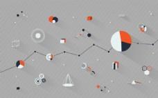 比较概念连接企业设计图片
