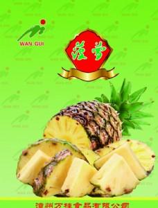 菠萝包装设计图片