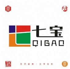 七宝logo设计矢量文件图片