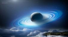 宇宙星球背景圖片