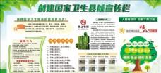 卫生城市宣传栏图片