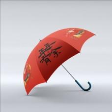 雨傘樣機圖片