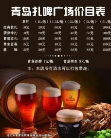 啤酒菜單圖片
