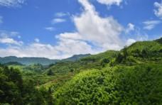 山峰戶外旅游背景海報素材圖片