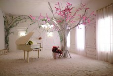 室内立体艺术设计效果图装饰画图片