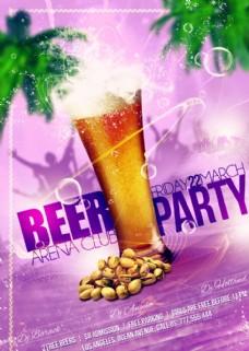 啤酒派對海報圖片