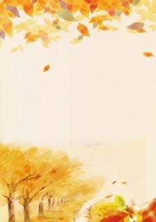 秋天背景图图片