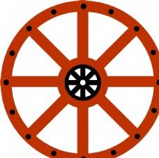 蒙古车轮图片
