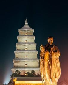 西安旅游大雁塔圖片