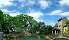 廣西賀州黃姚古鎮旅游攝影圖圖片