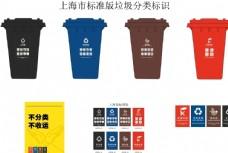 上海市标准垃圾分类标识垃圾筒图片
