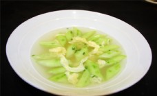 絲瓜雞蛋湯圖片