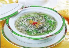 瑤柱銀絲發菜羹圖片