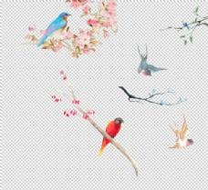中国风花鸟素材图片