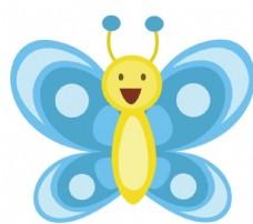 矢量卡通蝴蝶图片
