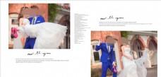 时尚浪漫婚纱摄影相册模板图片