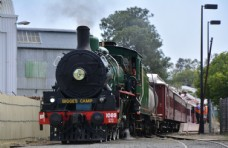 蒸汽火车图片