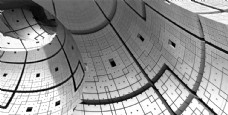 抽象立体建筑物图片