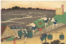 葛饰北斋版画图片