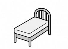 单人床图片