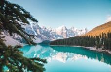 风景湖面图片